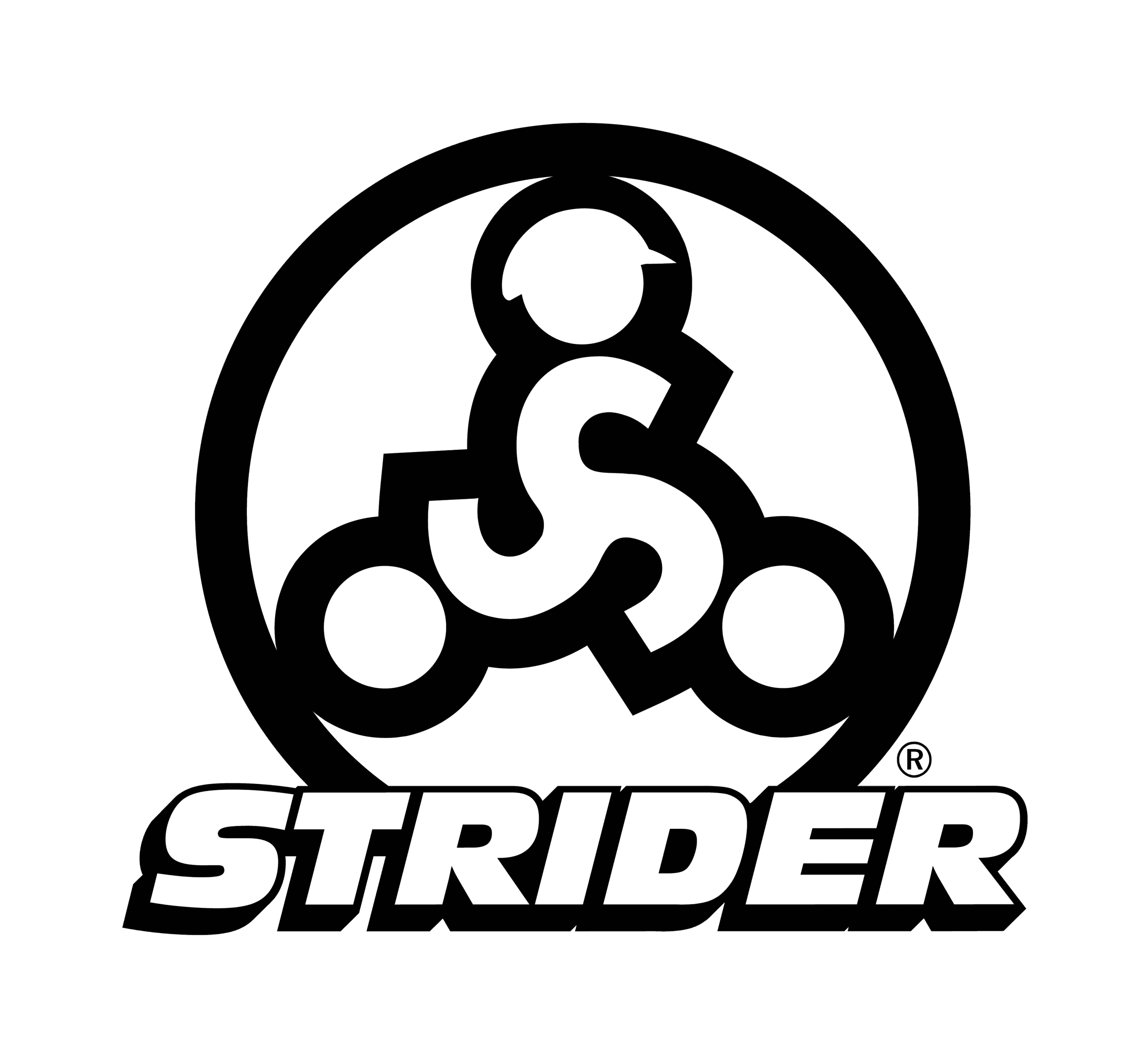 strider-stacked-logo